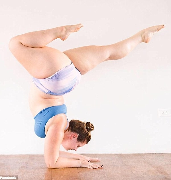 Plus-size yogi