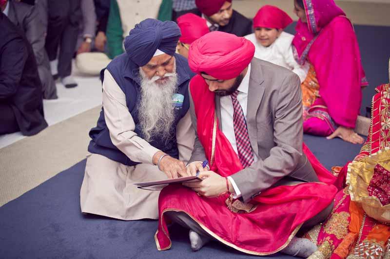 Calgary Punjabi Wedding Ceremony